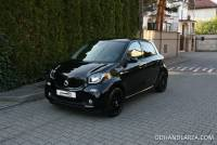 Smart ForFour 0.9T 90KM Automat Black Edition Panorama Navi Kamera LED Gwarancja Salon PL FV23%!!