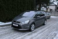 Ford S-Max 2.0T EcoBoost 203KM Titanium S 7-mio os Xenon Skóra Panoramiczny Dach SalonPL FV23%