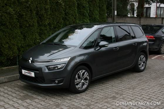 Citroen C4 Grand Picasso 7-mio os. 1.6 16V 120KM Seduction Salon PL FV 23%!! - Auta Na Miarę