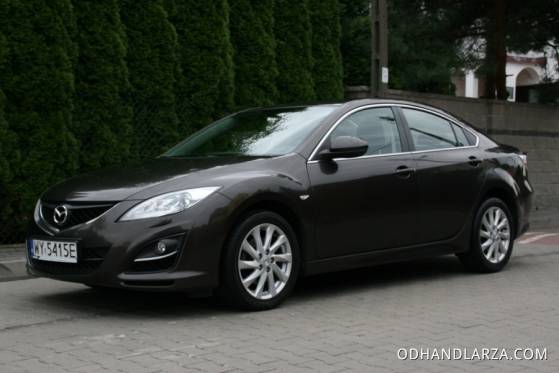 Mazda 6 Sedan 2.2D 163KM Exclusive  Salon PL FV23% - Auta Na Miarę